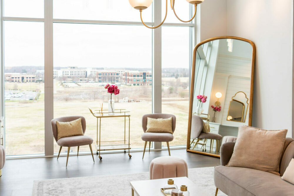 Bridal Suite at The View at Fountains