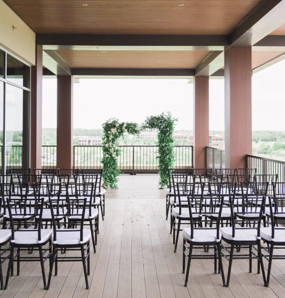 Terrace Wedding at The View at Fountains